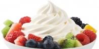 helado de yoghurt