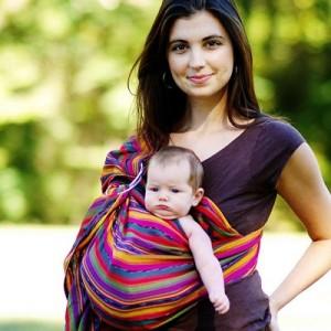 Cómo usar la bandolera sin arriesgar al bebé