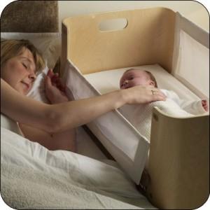 colecho, compartiendo cama con el bebe