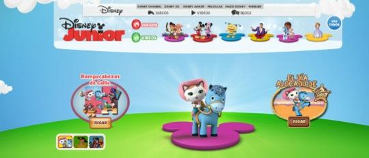 Páginas web con actividades para los niños pequeños