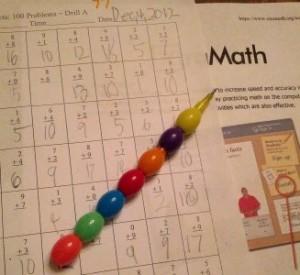 metodo kumon matematicas