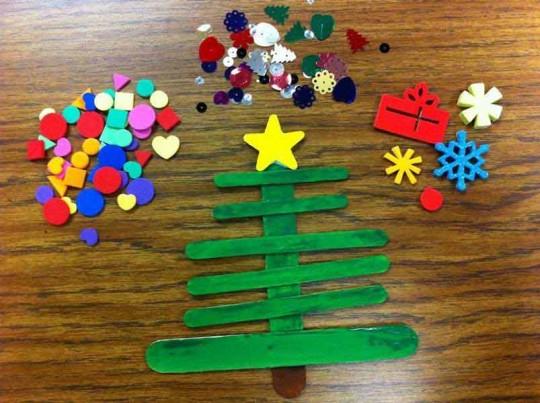 Adornos navideos para hacer con los nios PermisodePaternidad