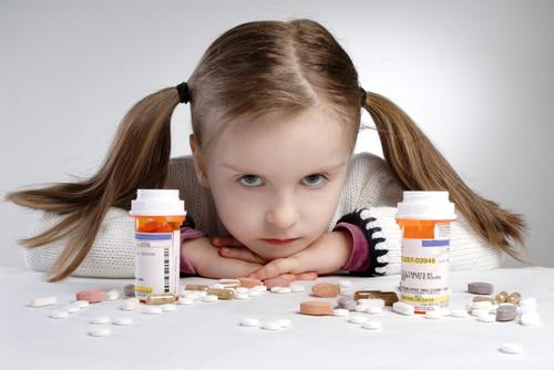 medicamentos fuera del alcance de los niños