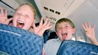 Espacio reservado para niños en aviones