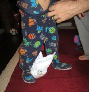 Qué hacer para que los pequeños no se quiten el pañal