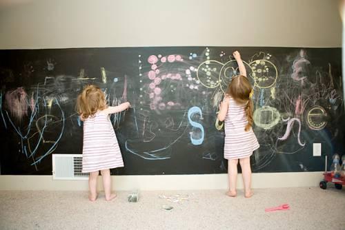 paredes para pintar con tizas