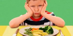 lograr que los niños coman vegetales