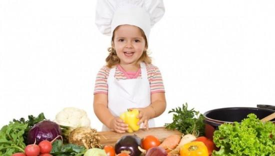 como conseguir que los peques coman verduras